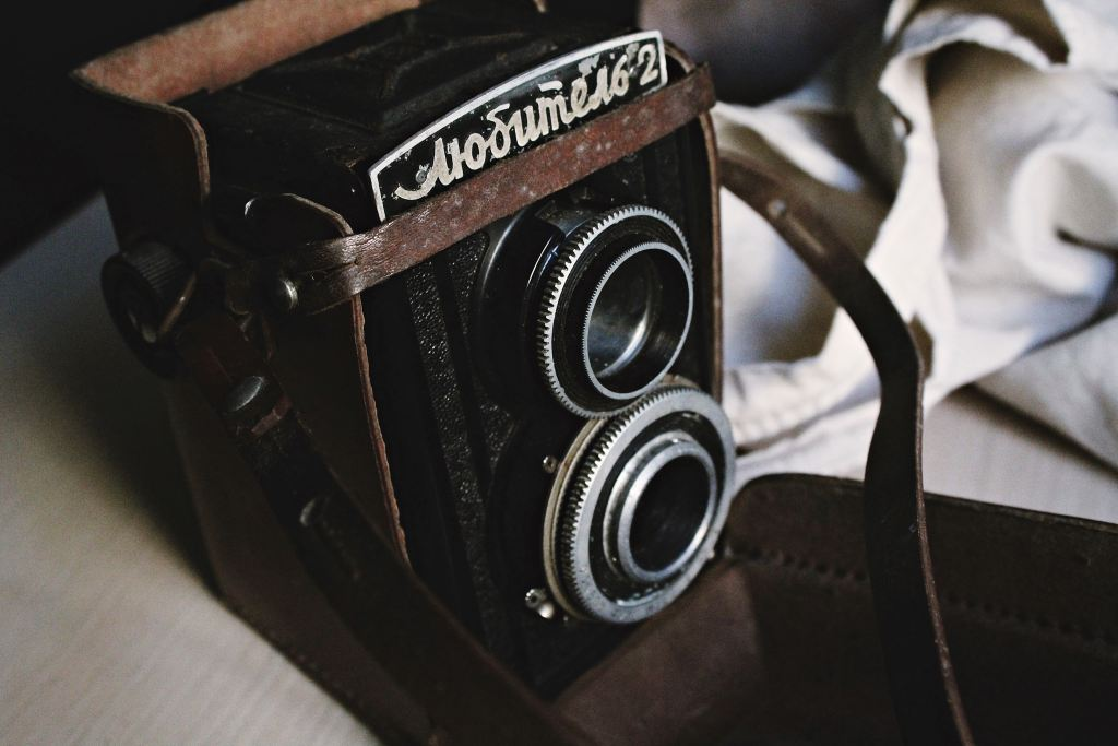 cover photo: old video camera