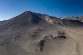 Aerial view of Cerro Plomizo in the Chilean Altiplano