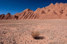 Desierto del Diabolo, clay mountains of the Puna de Atacama near Tolar Grande, Argentina