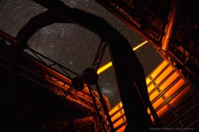 The Laser Guide Star of Paranal VLT telescope in operation