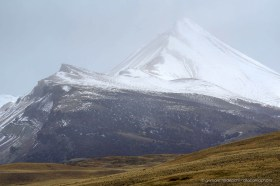 The arrival of autumn brings snow and fog to the mountains of Reserva Jeinimeni, southern Chile
