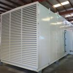Acoustic Enclosure for Diesel Generator (75 dBA max. noise level)