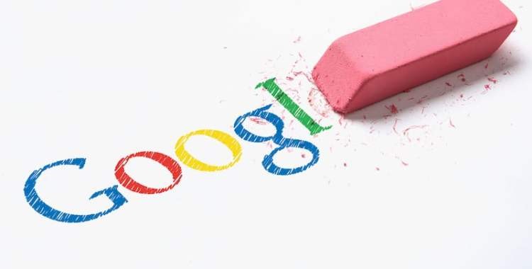 google silme kaldırma