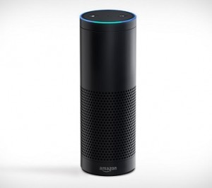 Amazon Echo is a smart speaker developed by Amazon.com. The device consists of a 9.25-inch (23.5 cm) tall cylinder speaker