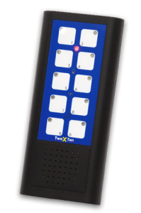 TwoXTen InfraRed remote control with auditory feedback