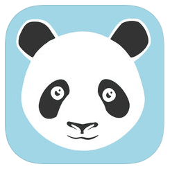 MoodPanda app logo Track your moods using graphs and calendars.