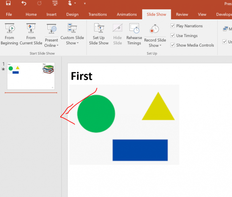Powerpoint with symbols