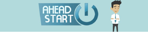 Ahead start logo
