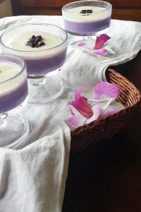 Taro Silky Pudding