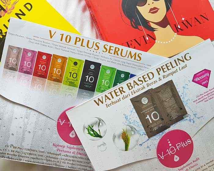v10 plus packaging