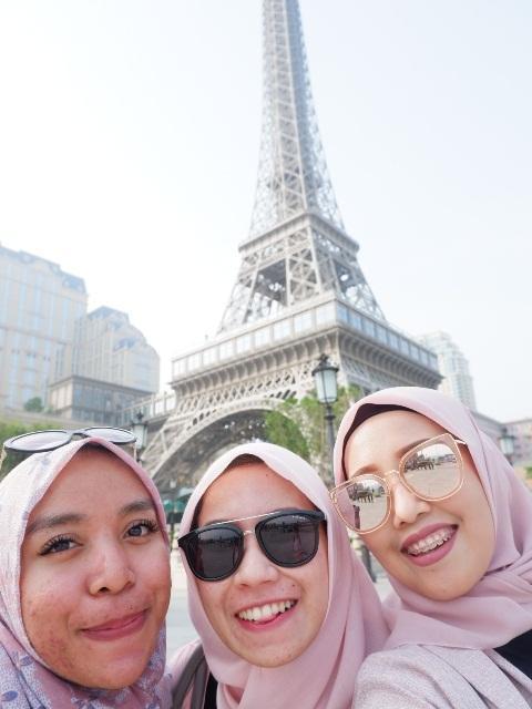 At Parisian Tower