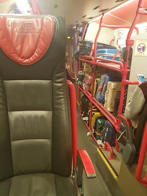 Inside A21 Bus