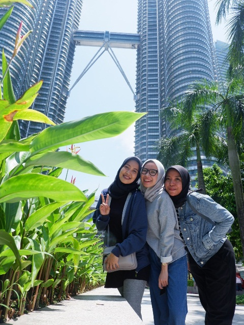 Selfie di Petronas Twin Tower