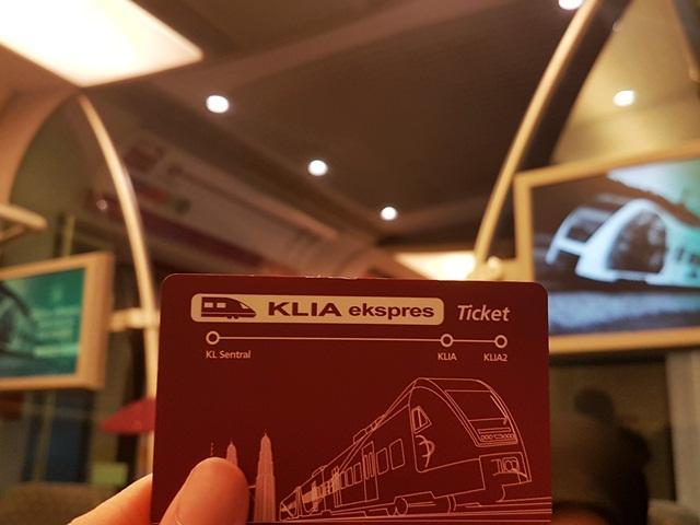 Tiket KLIA Ekspres