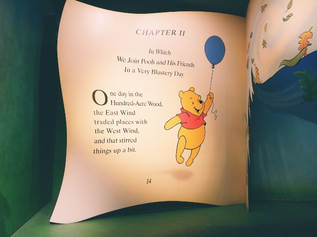 the adventure of winnie the pooh