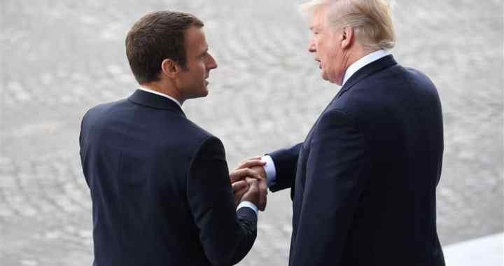 Be Like Emmanuel Macron And Accept That Trump Is President