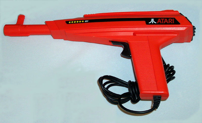 here s a picture of an atari g 1 light gun prototype only a few of