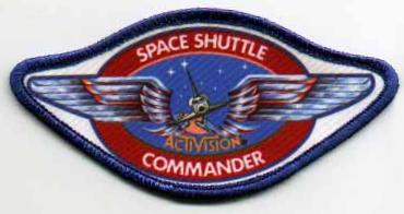 Space Shuttle Commander badge