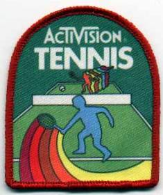 Tennis badge