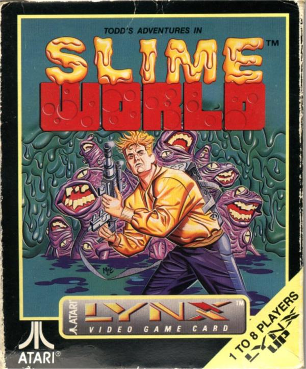 Todd's Adventures in Slime World - Box Front