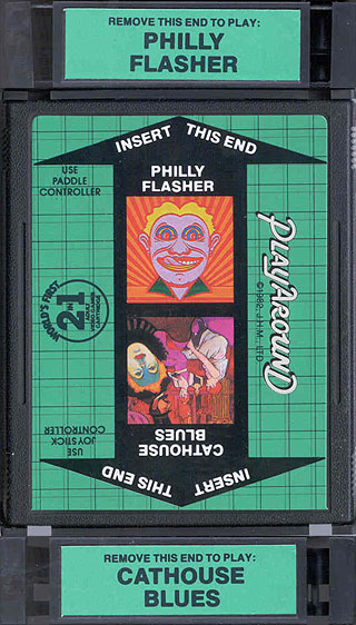 Atari 2600 VCS Philly Flasher Cathouse Blues Scans
