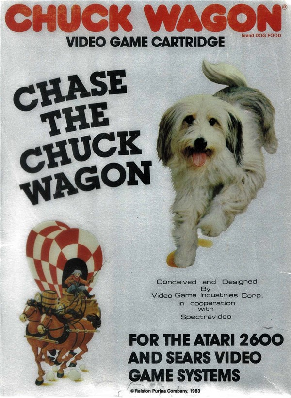 Image result for atari Chase the Chuck Wagon