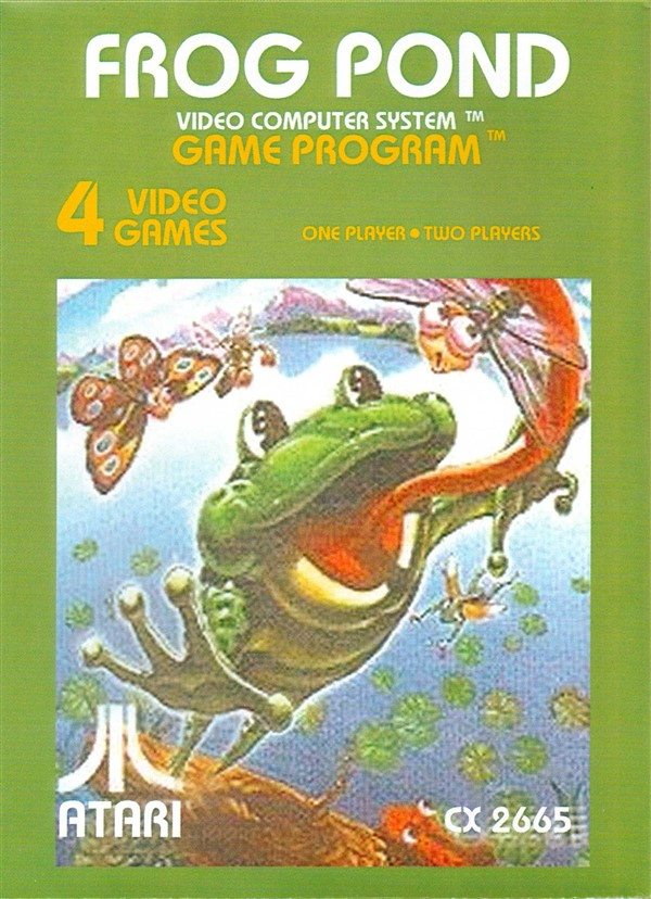 Atari 2600 VCS Frog Pond Scans Dump Download