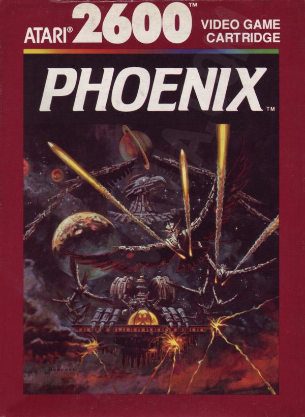 Atari 2600 VCS Phoenix Scans Dump Download Screenshots Ads Videos Catalog Instructions