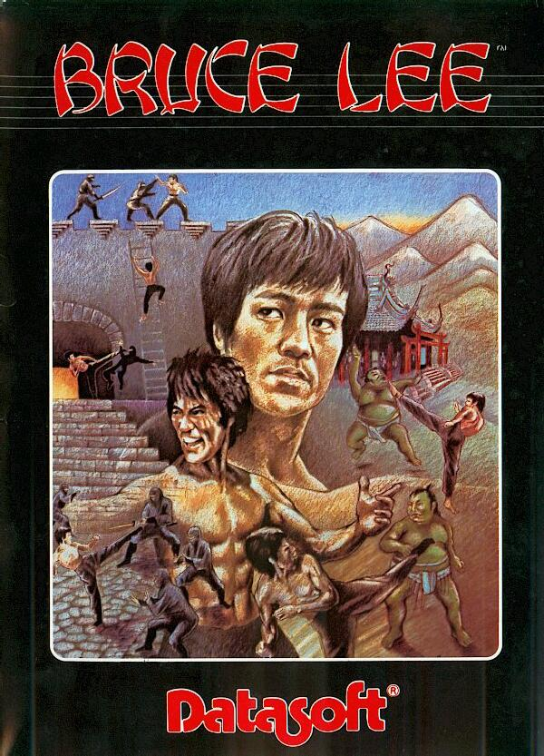 Atari 400 800 XL XE Bruce Lee : scans