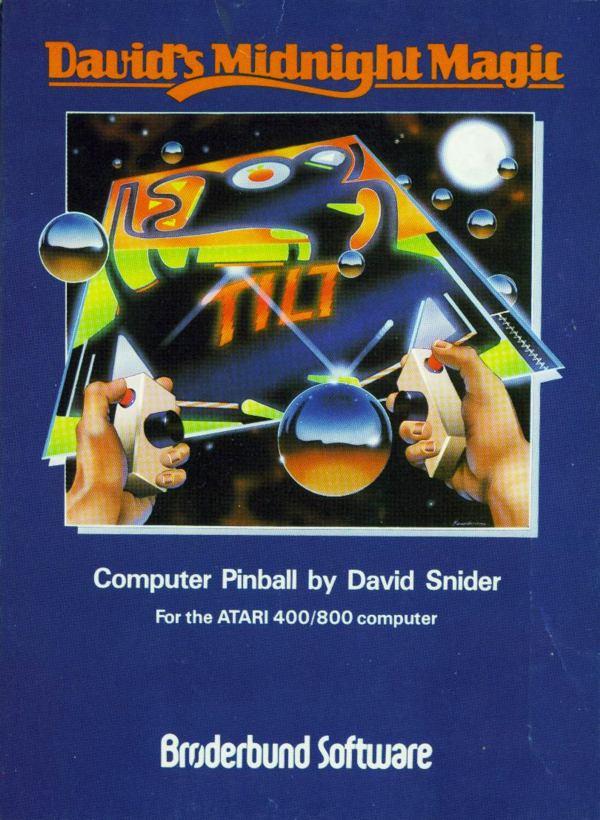 Atari 400 800 XL XE Davids Midnight Magic Scans Dump