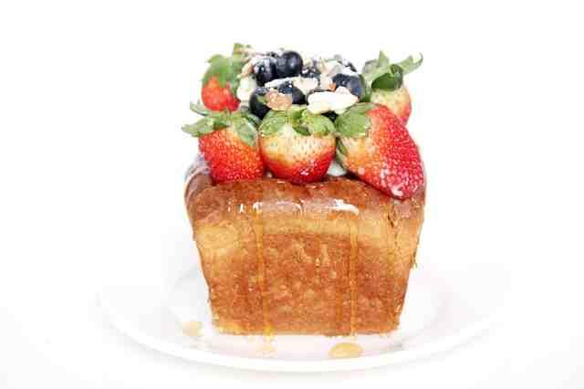 Japanese Honey Toast, How to make Japanese Honey Toast