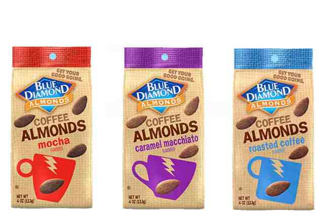Blue Diamond Coffee Almonds