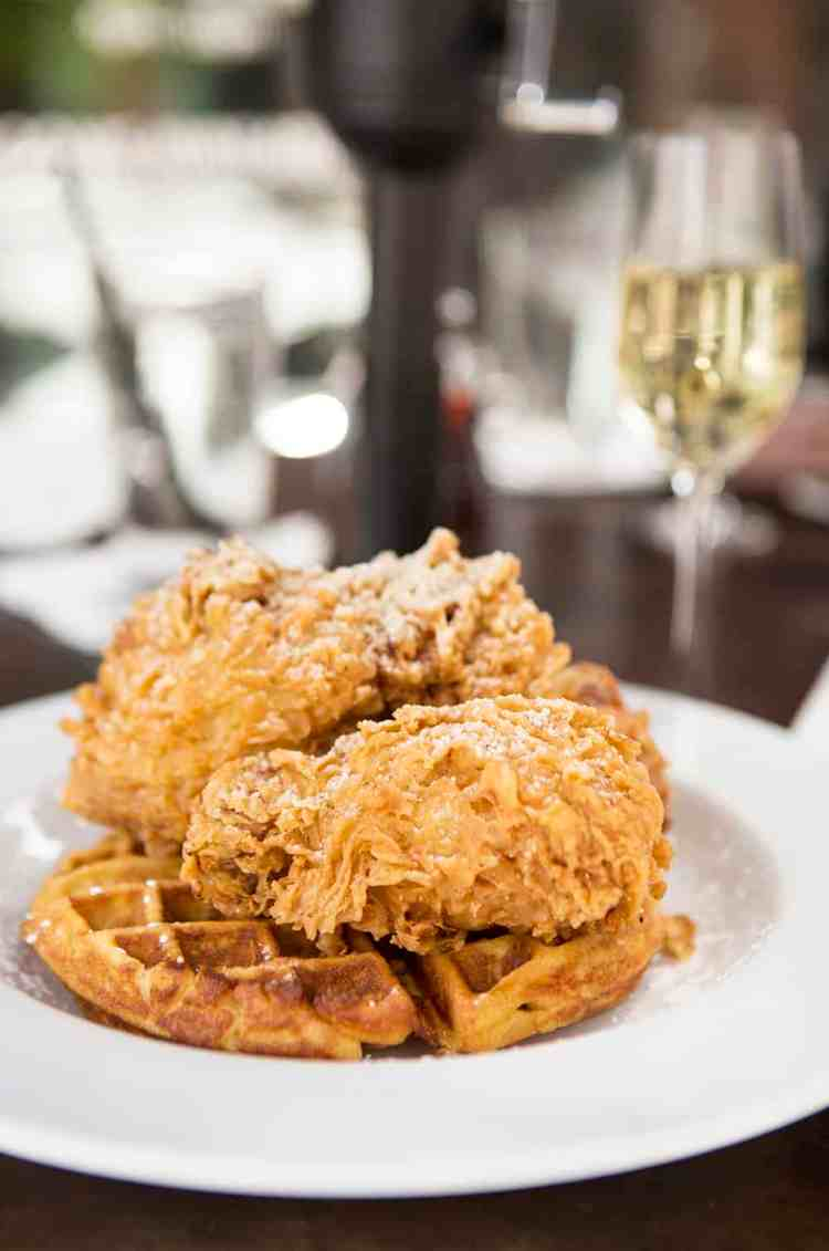 Fried Chicken and Champagne at Max's Wine Dive