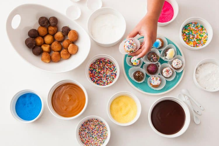 Donut Hole Party