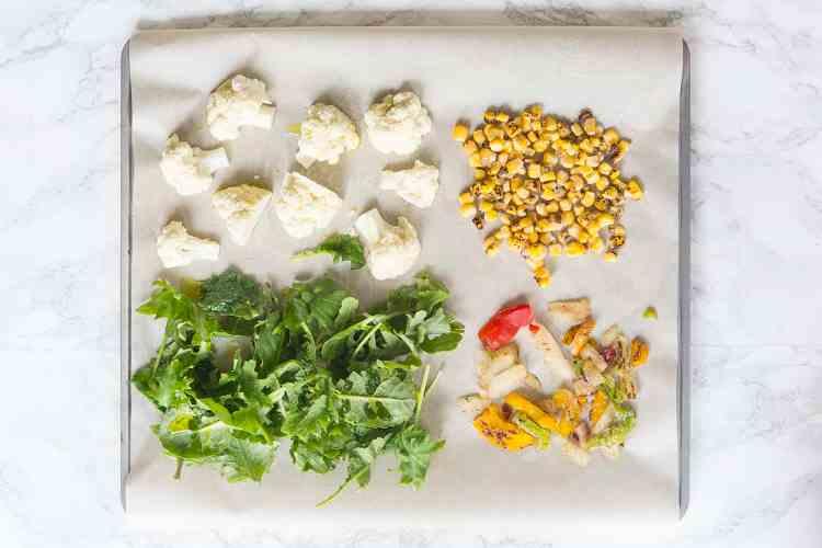 Healthy Quinoa Bowl Ingredients