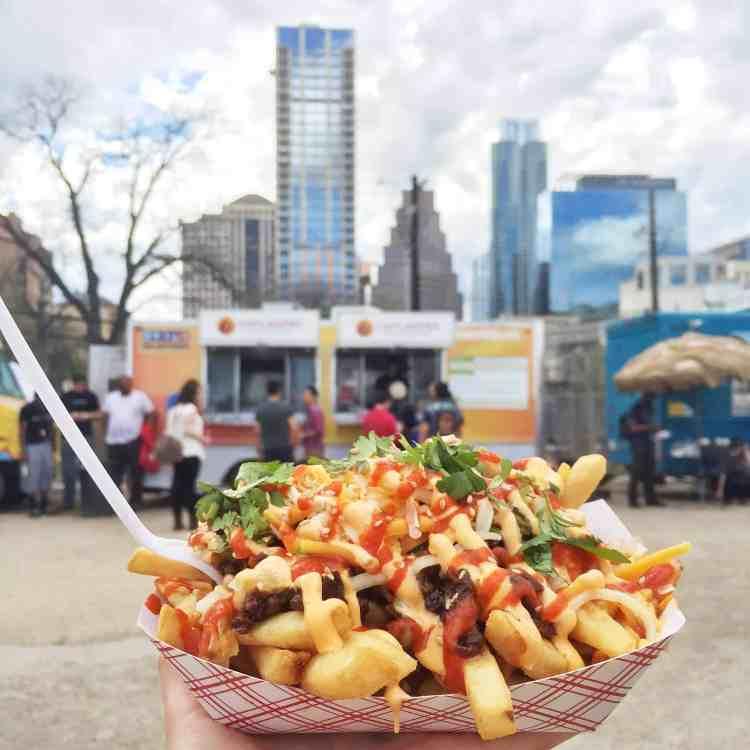 Chilantro Kimchi Fries