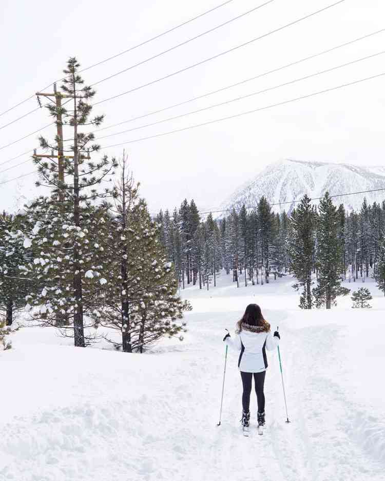 Cross-country Skiing in Mammoth Lakes
