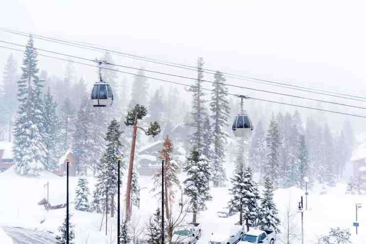 Gondola in Mammoth Lakes