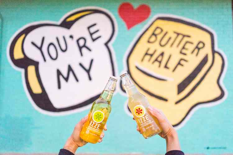 You're My Butter Half Mural