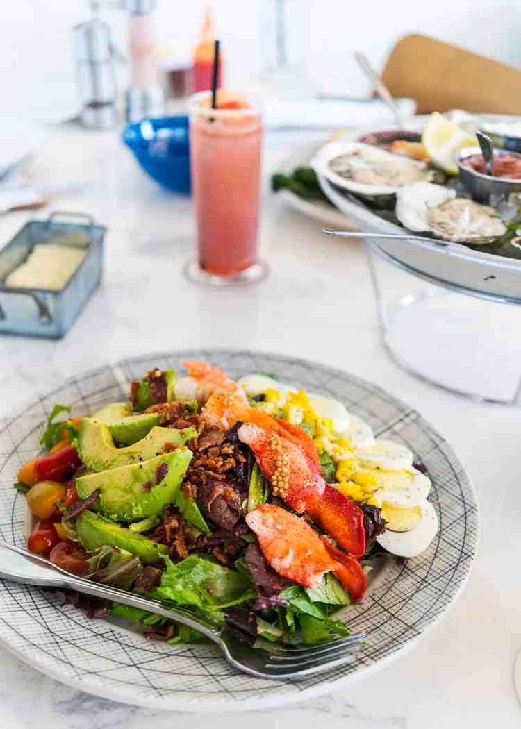 Shrimp + Lobster Salad