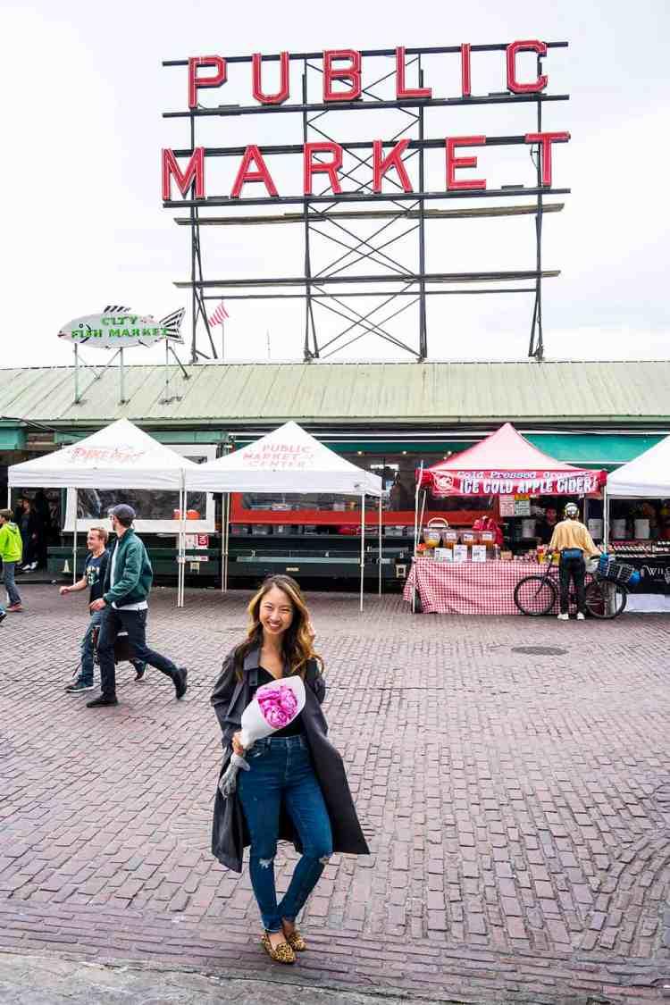 Pike Public Market in Seattle