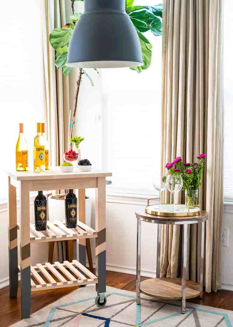 DIY White Wine Spritzer Bar