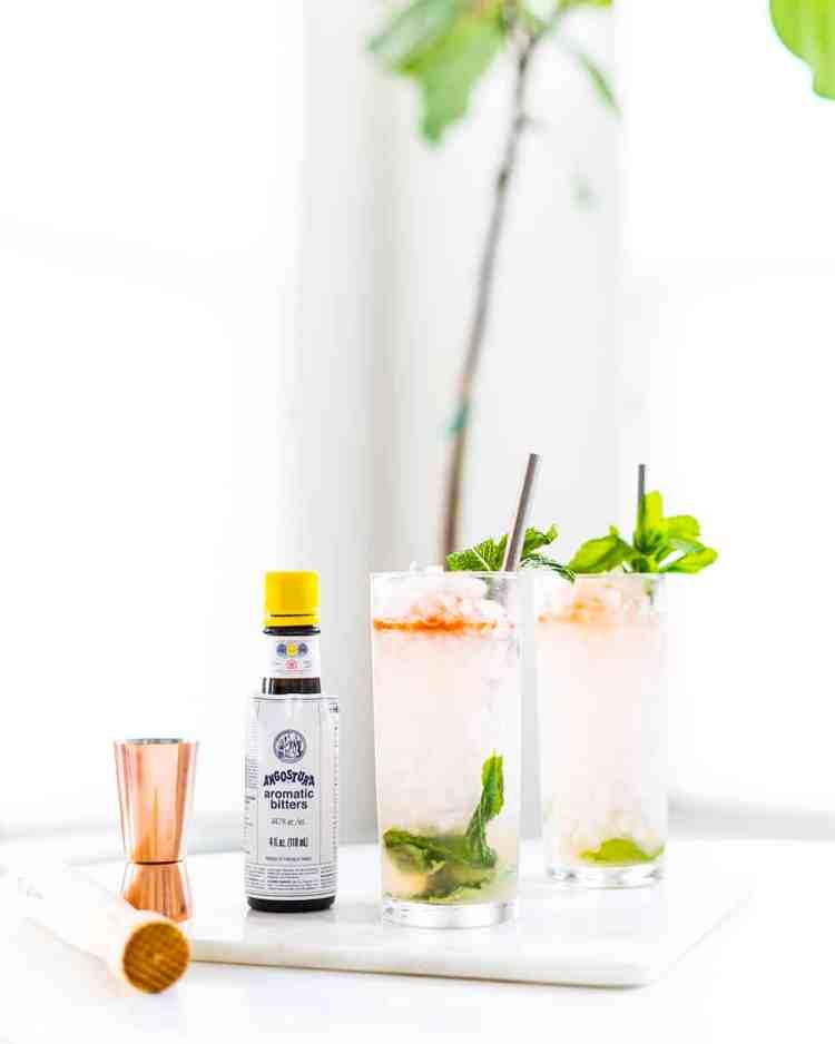 Queens Park Swizzle Cocktail