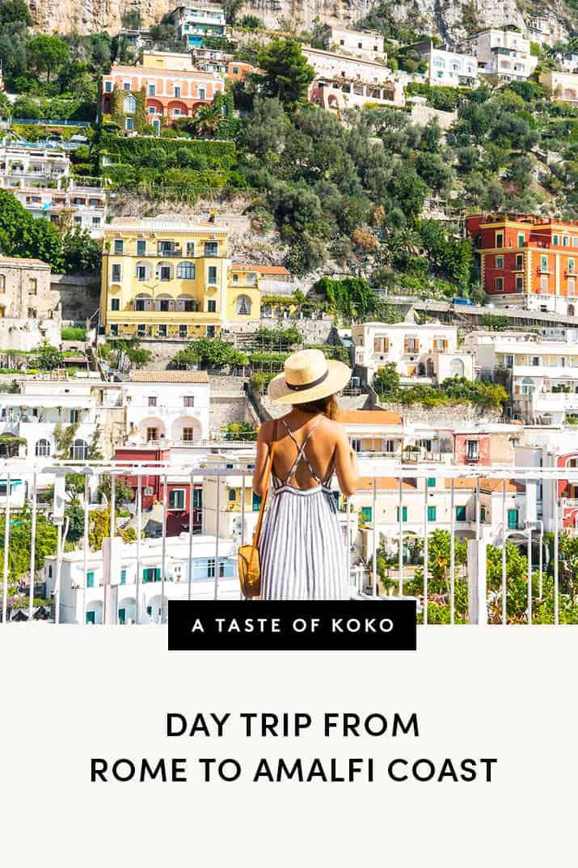 Day Trip From Rome To Amalfi Coast