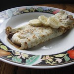Nutella Banana Crepe