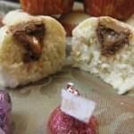 Caramel Kiss Vanilla Muffins