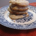 Banana Shortbread Cookies