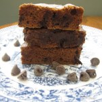 Chocolate Chip Pumpkin Brownie