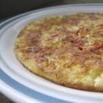Quinoa Bell Pepper Omelette