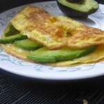 Avocado and Havarti Omelette